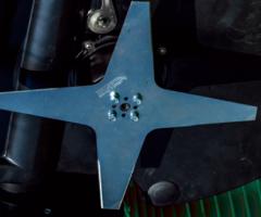 robot tagliaerba AMBROGIO L30 BASIC - dettaglio lame