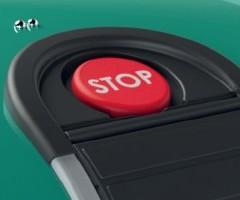 robot tagliaerba L30 DELUXE - dettaglio stop