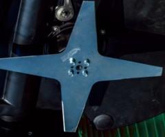 robot tagliaerba L30 DELUXE - dettaglio lame